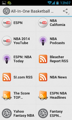 Basketball News and Scores 5.2 screenshots 2