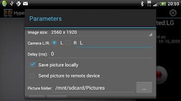 Screenshot of Hyper3DPhone