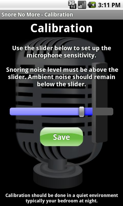Snore No More - screenshot