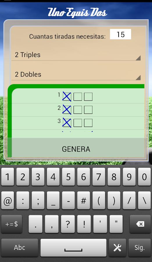 UNO EQUIS DOS 1x2- screenshot