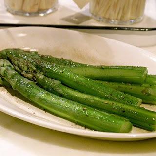 Boiled Asparagus.