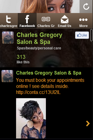 Charles Gregory Salon