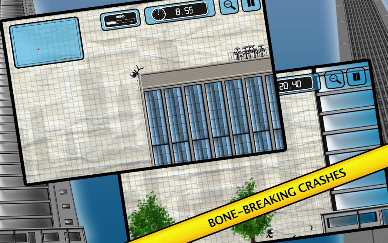 Stickman Base Jumper screenshot #15