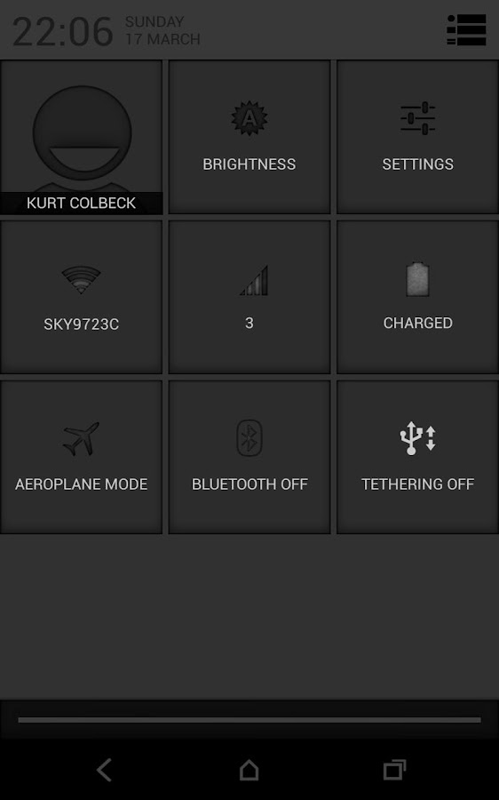 CM10/AOKP: Ash - screenshot