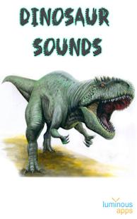 Dinosaur Sounds- screenshot thumbnail