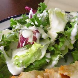 'Out of Salad Dressing' Salad Dressing.