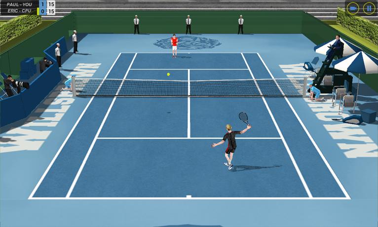 Flick Tennis screenshot #8