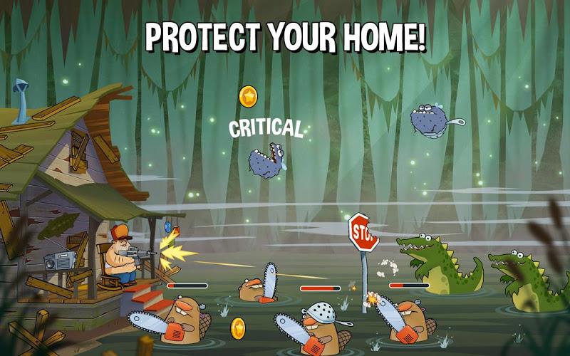 Swamp Attack Mod Apk v1.8.1 (Unlimited Money)