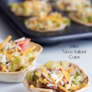 Mini Taco Cups.
