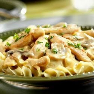 Easy Chicken Stroganoff.