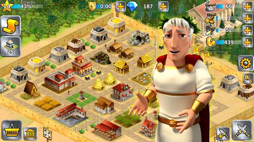 Battle Empire: Rome War Game  screenshots 6