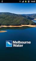 Screenshot of Melbourne Water