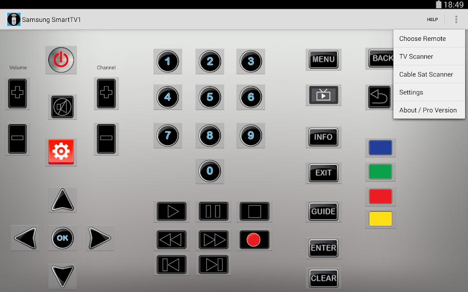 برنامج Power IR - Universal Remote Control Pro v2.27 للاندرويد اخر اصدار كامل