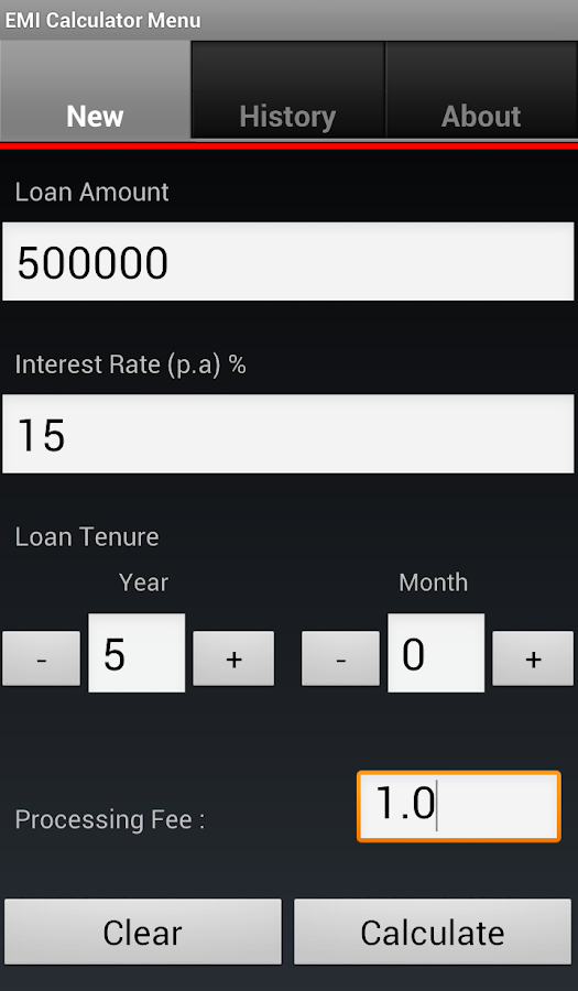 Calculate Business Loan Emi