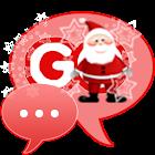 Santa Claus Theme for GO SMS icon