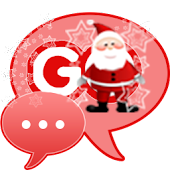 Santa Claus Theme for GO SMS