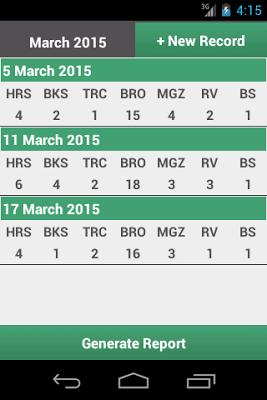 JW Field Report - screenshot
