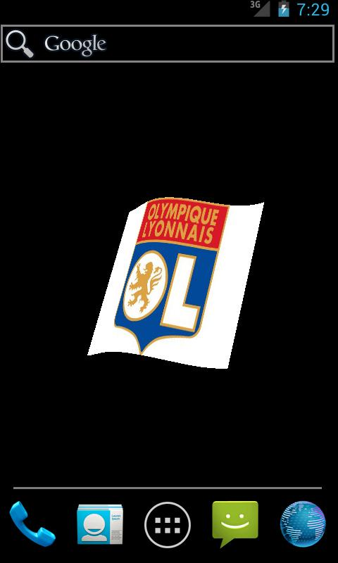 Ligue 1 French Team Flag LWP- screenshot