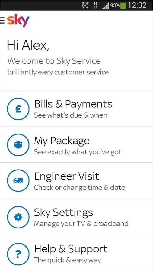 Sky Service - screenshot