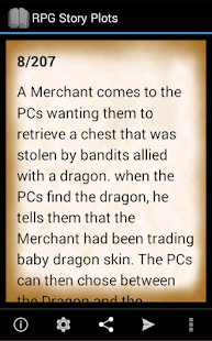 RPG Story Plots- screenshot thumbnail
