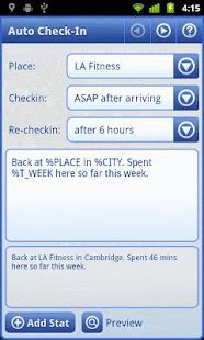 Smart Places Checkin Key - screenshot thumbnail