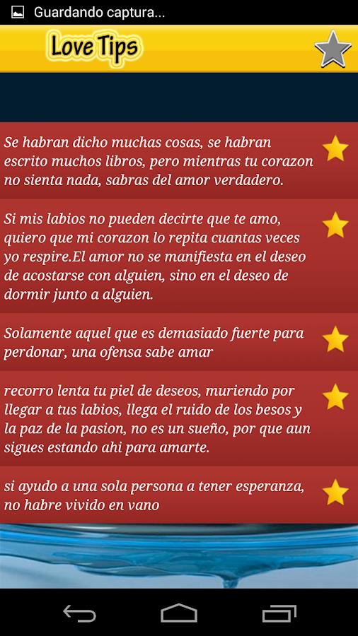 Frases de Amor Bonitas - screenshot