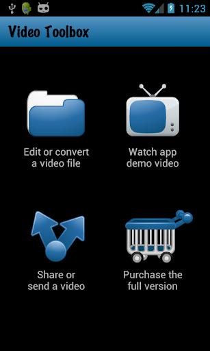 Video Toolbox editor trial