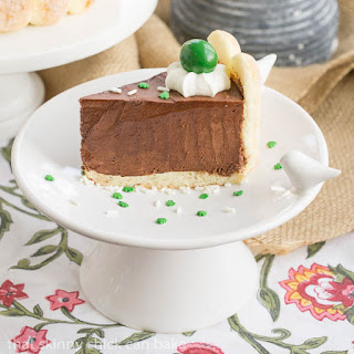 Irish Chocolate Mousse Cake.