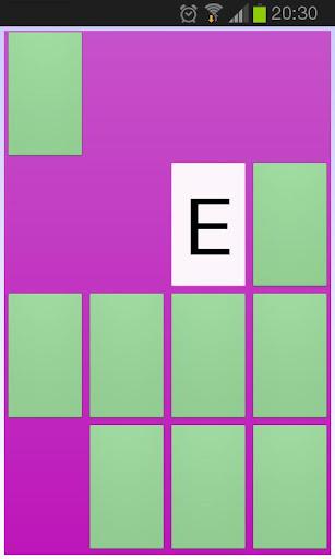 Alfamem - känna igen bokstäver