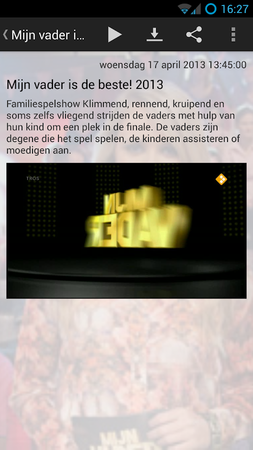 Gemist! - screenshot