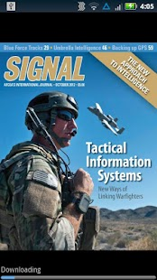 SIGNAL Magazine- screenshot thumbnail