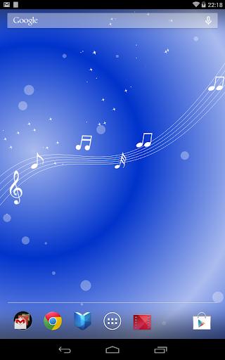 玩免費個人化APP|下載音符の泉 ライブ壁紙  無料版FREEフリー app不用錢|硬是要APP
