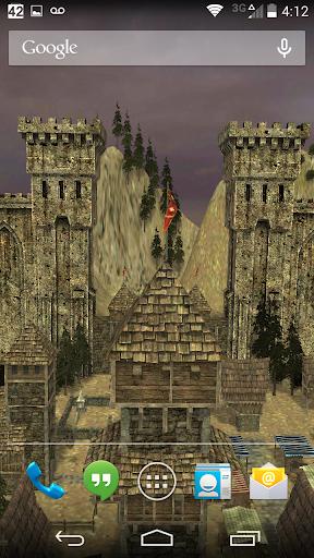 3D Live Wallpaper - Castle Pro