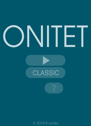 ONITET merciless puzzle game
