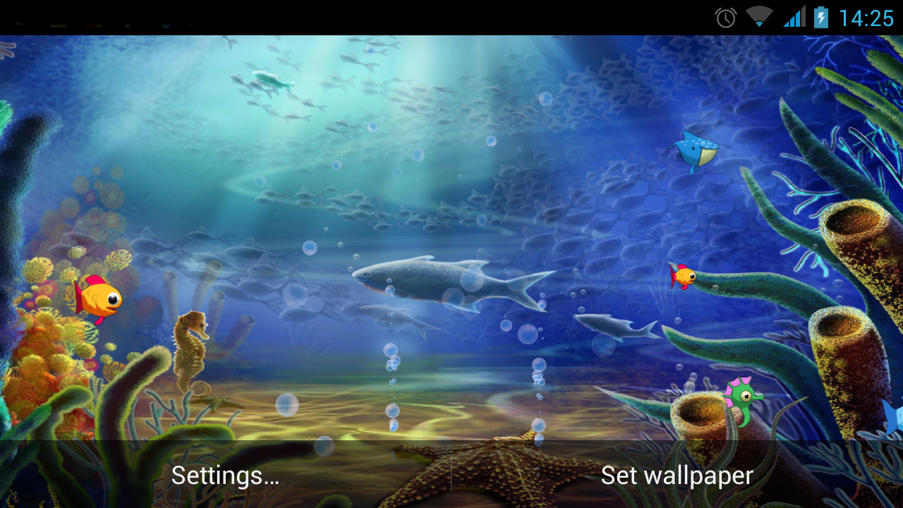 Insaniquarium Deluxe LWP Android Apps On Google Play