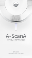 Screenshot of A-ScanA (Smart Breathalyzer)