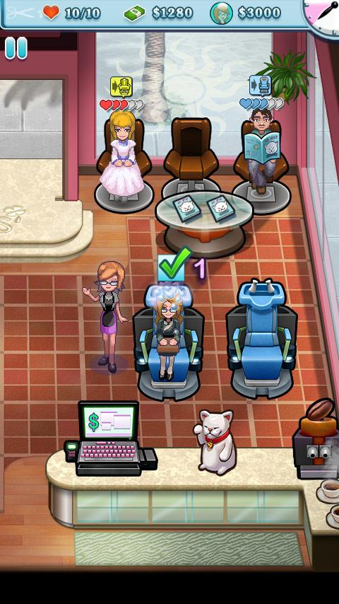 Sally's Salon Luxury Lite - screenshot