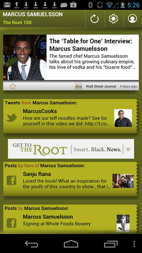 Marcus Samuelsson: The Root 10 - screenshot