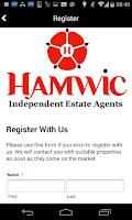 Screenshot of Hamwic Estate Agents