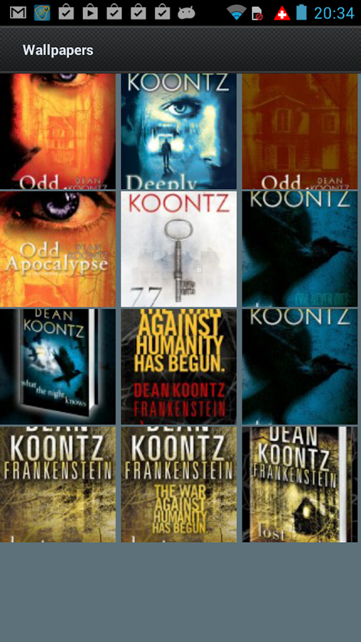 Dean Koontz- screenshot