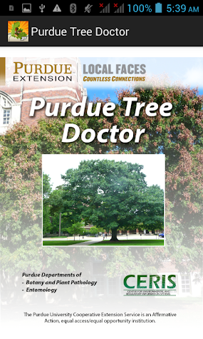 Purdue Tree Doctor Screenshot