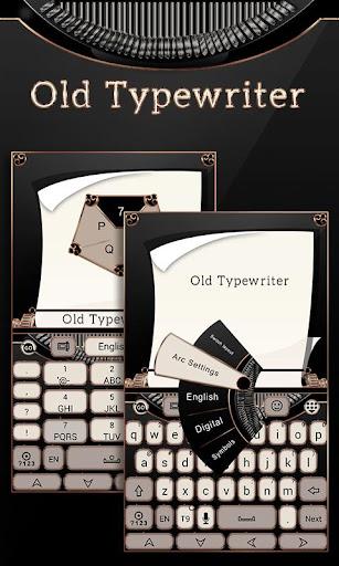 Old Typewriter Keyboard Theme