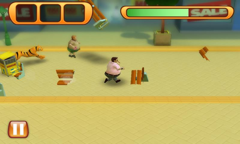 Run Fatty Run - screenshot