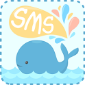 GO SMS Pro Whale ThemeEX icon