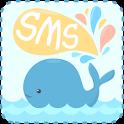 GO SMS Pro Whale ThemeEX icon