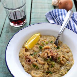 Quinoa Seafood Risotto
