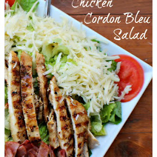 Chicken Cordon Bleu Salad