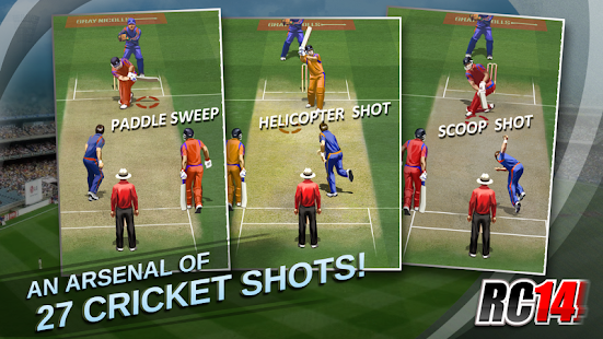 Real Cricket ™ 14 - screenshot thumbnail