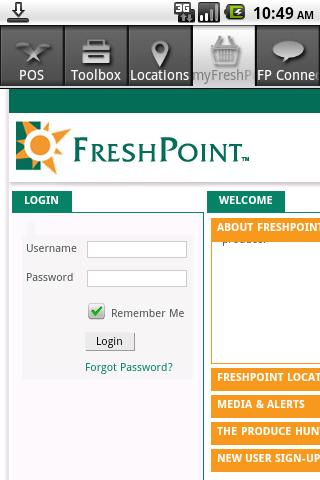 FreshPoint - screenshot