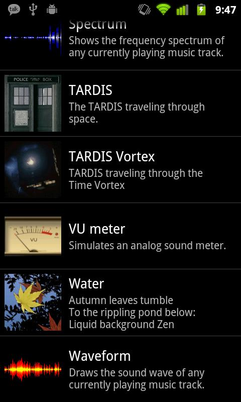 Tardis Live Wallpaper- screenshot